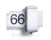 Hausnummernleuchte L 665 LED m. Infrarot-Sensor