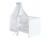 Babybett Maximo - Weiß, Schardt
