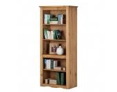 Bücherregal Finca Rustica - Kiefer massiv - gewachst, Landhaus Classic