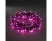 EEK A+, Micro LED Lichterkette - 40 pinke Dioden - Außen, Konstsmide
