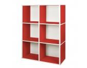 Bücherregal Tribeca Rot, waybasics