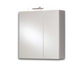 Spiegelschrank in Weiß mit Licht
