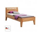 Einzelbett Comfort - Buche massiv - geölt - Liegefläche: 100 x 200 cm, MS Schuon