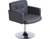 Design Lounge Sessel LOS ANGELES, drehbar, mit Kunstlederbezug (aus bis zu 11 Farben wählen)