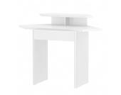 Eck-Schreibtisch Cuuba Libre 85E - Hochglanz Weiß, loftscape