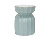 Keramikhocker Lotosgarten - Aqua, Safavieh