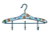 DELIFE Garderobenhaken Cintre Bunt 46x30 cm mit 3 Haken, Dielenmöbel