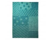 Kinderteppich Stars - Türkis - 170 x 240 cm, Esprit Home