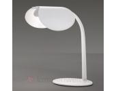 Designer-Tischleuchte Mia T in Weiß