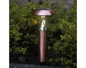 Kupferfarbene LED-Solarleuchte Sarina 36 cm