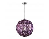 EEK A++, Hängeleuchte/Pendelleuchte Purple - 1-flammig - Durchmesser 35 cm, Honsel