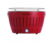 Tischgrill LotusGrill - Stahl - Feuerrot - 27 x 45,5 x 45,5, LotusGrill