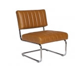 Lounge Sessel in Braun Retro
