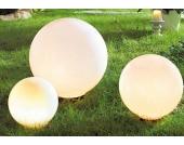 LED Gartenleuchte, Kugelform, in 3 Größen
