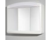 Bad-Spiegelschränkchen in Weiß