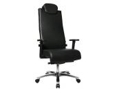 Topstar Bürostuhl / Chefsessel BIG STAR Leder schwarz