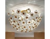 Kunstvolle LED Deckenleuchte Vie en Rose