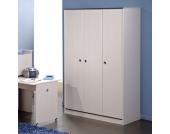 Jugendzimmer Kleiderschrank in Weiß