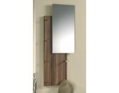 Wandgarderobe mit Spiegel