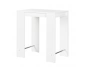 Stehtisch Jersey - Hochglanz Weiß, Home Design