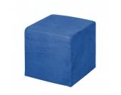 Sitzwürfel Fredrik - Stoff Blau, Fredriks