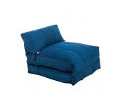 Schlafsessel Caneva - Stoff Blau, Fredriks